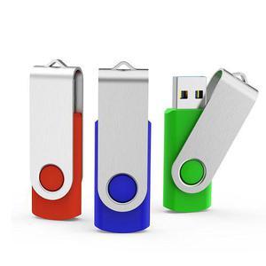 Paquete De 3 Memorias Usb Flash 3.0 Topsell 32gb -3 Colores
