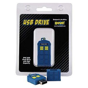 Policía Caja Doctor Who Usb Flash Drive 2gb Retro Diseño