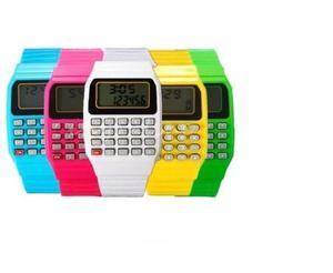 Reloj Calculadora Nerd Regreso A Clases