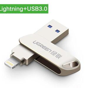 Usb Flash 3.0 Iphone, Pc Y Ipad Dual De 128 Gb. Envio Dhl