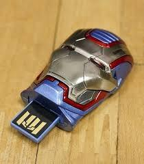 Usb Flash Drive 8gb Marvel Iron Man 3 Iron Patriot
