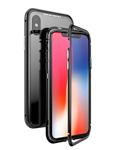 Funda Bumper Aluminio Magnetica Iphone 7 8 X Xs Max S9 S8 N9