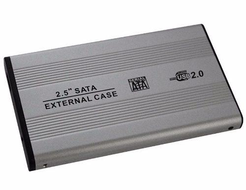 Gabinete Case Para Disco Duro De Laptop 2.5 Sata Usb 2.0