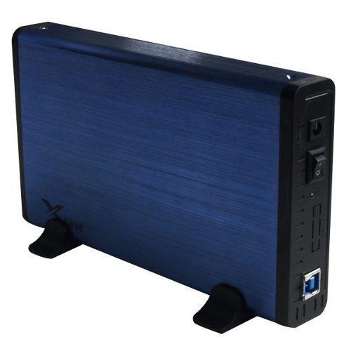 Gabinete Enclosure Para Disco Duro 3.5'' Usb 3.0 Sata Azul