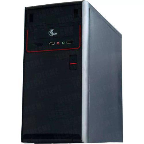 Gabinete Pc Xtech Remate Fuente 600w Xtq-100 Micro Atx