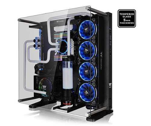 Msi Gabinete Thermaltake Core P5 Gris Atx Vidrio Templado Ca