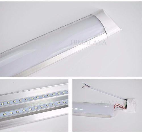 Panel Ultradelgado Led, Lampara, Gabinete,tubo 36w 12pzs