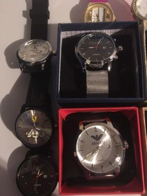 Relojes nuevos diferentes modelos