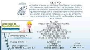 curso basico de seguridad industrial