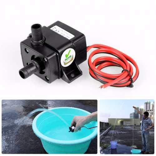 12v Mini Bomba De Agua Sumergible Cabeza De Poder Xto