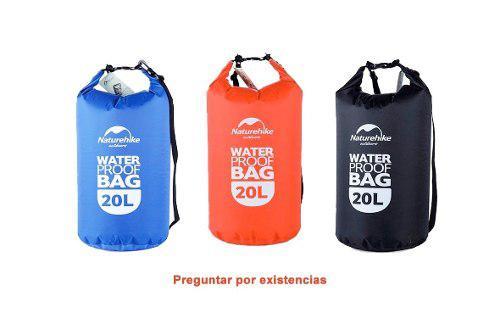 Bolsa Seca 20l Impermeable Deportes Extremos Rafting Kayak