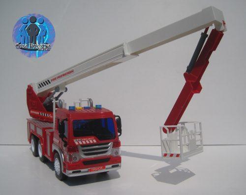 Camión De Bomberos Firefighter 1:16 Con Luz Y Sonido