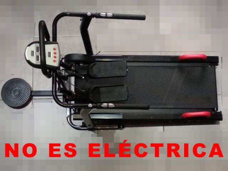 Caminadora NO ES ELÉCTRICA BodyFit Multifuncional 4 en 1
