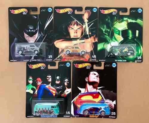 Hot Wheels 50 Aniversario Dc Comics Alex Ross Superman