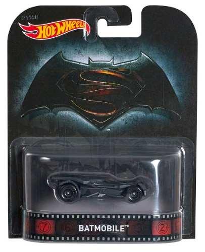 Hot Wheels Retro Batman Vs Superman Batmobile