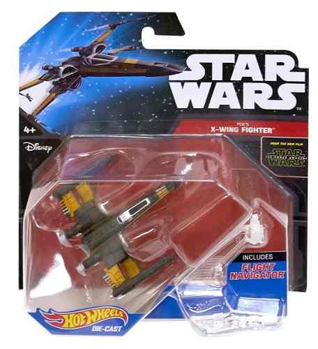 Hot Wheels Star Wars X Wing Fighter Poe Nueva Envio Gratis