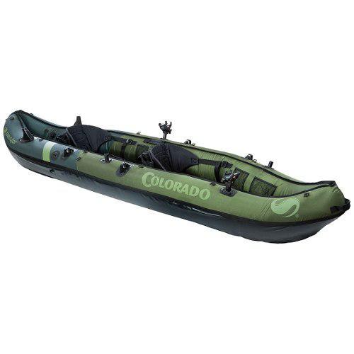 Kayak Inflable De Pesca 2 Personas Sevylor Colorado