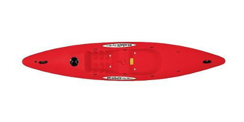 Kayak Malibu 3.4 Rojo Recreativo