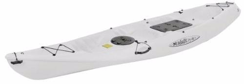 Kayak Malibu Pro 2 Para Pesca Y Buceo Color Blanco