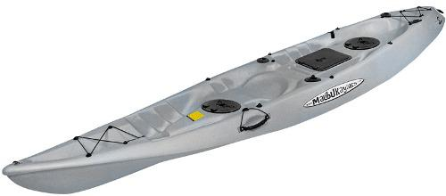 Kayak Malibu Pro 2 Tandem Estandar Color Gris Y Azul