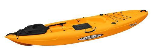 Kayak Malibu Trio 11 Para Pesca Y Buceo Color Mango