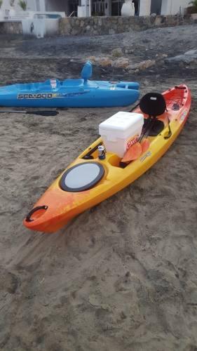 Kayak Para Pesca Marca Perception 12 Pies Con Dos