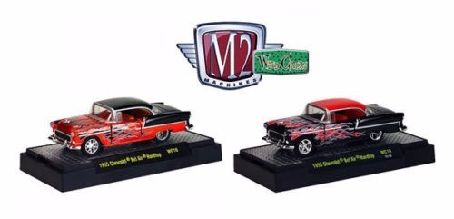 M2 Machines 1:64 Series  Chevrolet Bel Air Hardtop