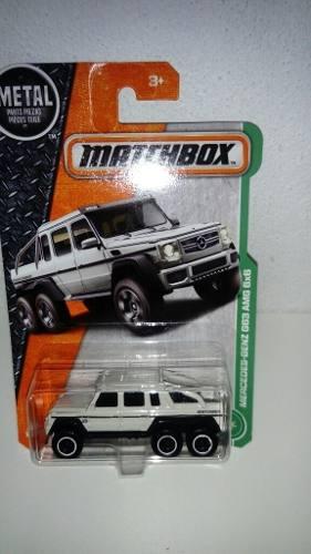 Mercedes-benz Canela G63 Amg 6x6 Matchbox