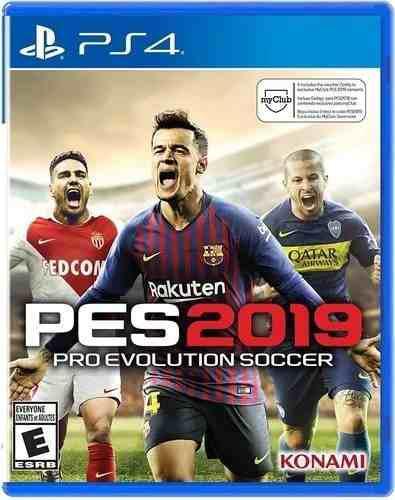 Pes 19 Pro Evolution Soccer 2019 Ps 4 Nuevo + Regalo