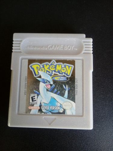 Pokemon Silver Version Gbc + Envio Gratis