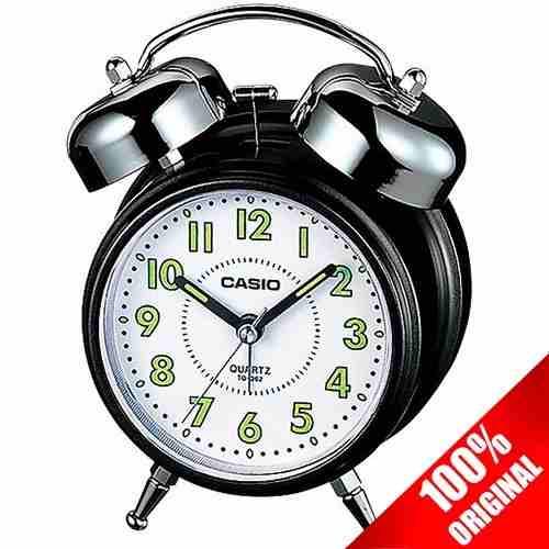 Reloj Casio Tq362 Negro Despertador Campana