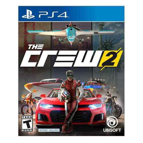 Video Juego The Crew 2 Trilingual Standar Ps4 Gaming Gamer