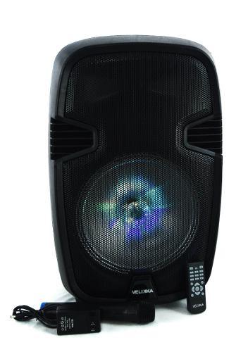 Bafles Amplificados 10 Pulgadas Bluetooth Velikka Vkk-101l