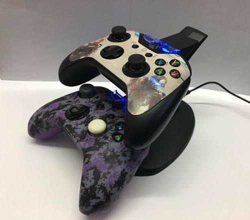 Base De Carga Para 2 Controles Xbox One Microsft Nuevo