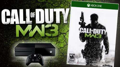 Call Of Duty Modern Warfare 3 Xbox One Licencia!! Lea Bien