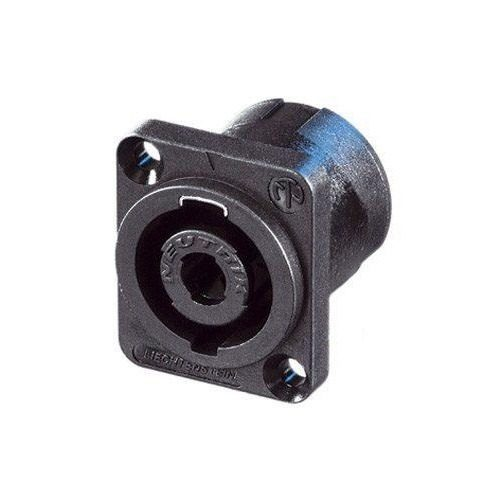 Conector Neutrik Speakon Macho De 4 Polos Para Chasis Nl4mp