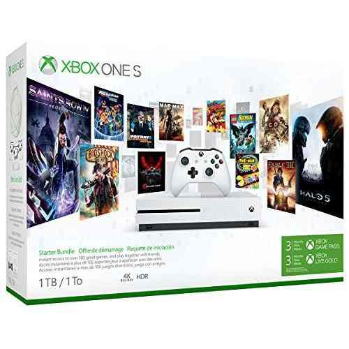 Consola De Xbox One S 1tb, Paquete De Inicio, Microsoft