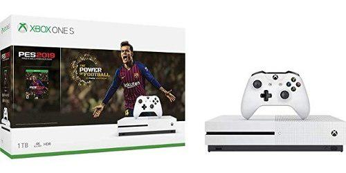 Consola Xbox One S 1tb 4k + Pes2019