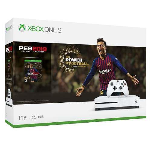 Consola Xbox One S 1tb A Escoger Minecra/pes2019/fortnite