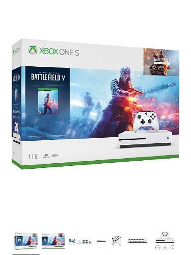 Consola Xbox One S 1tb Battlefield V Bundle Editi