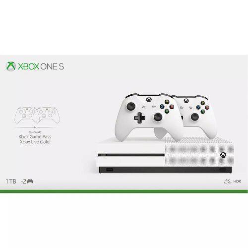 Consola Xbox One S 1tb Con 2 Controles + Gold + Pass 18 Msi