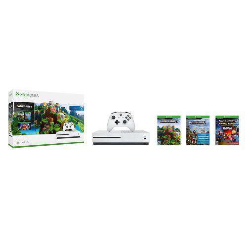Consola Xbox One S 1tb Con Juego Digital Minecraft Xbox
