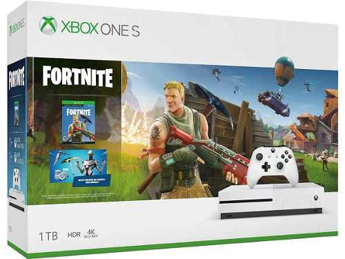 Consola Xbox One S, 1tb + Paquete Fortnite - Bundle Edition