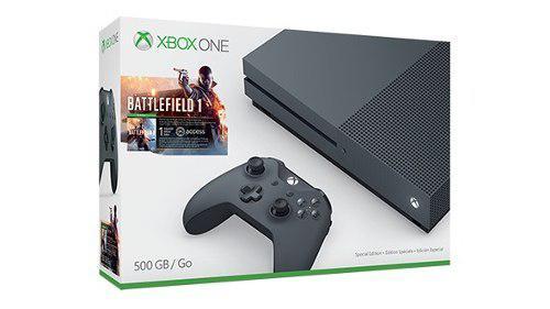 Consola Xbox One S 500 Gb Battlefield 1 Negra