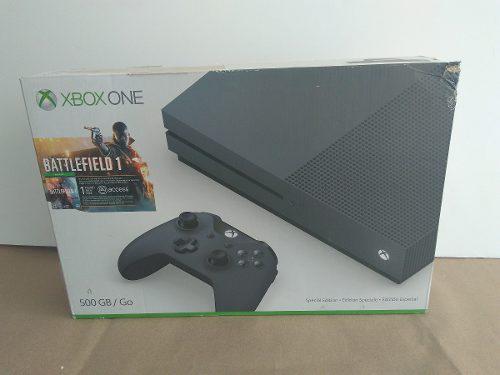 Consola Xbox One S 500 Gb Battlefield 1 Negra Game114