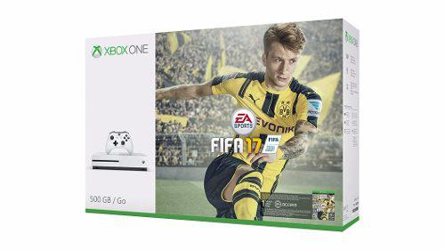 Consola Xbox One S 500gb Con Fifa 17 En Whole Games