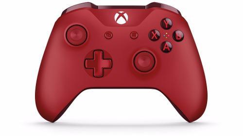 Control Inalambrico Rojo Xbox One Nuevo Y Sellado