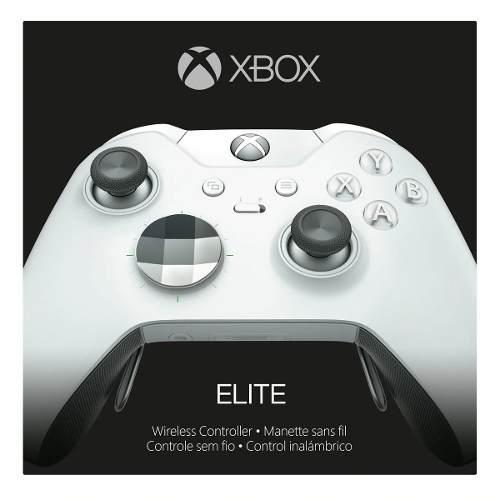 Control Inalámbrico Elite Xbox One Blanco Xbox Envió