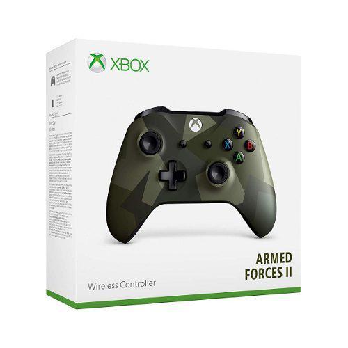 Control Inalámbrico Para Xbox One Armed Foces 2 A Meses