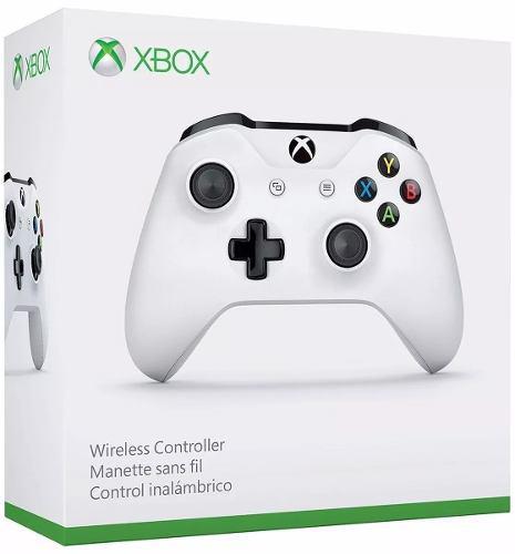 Control Inalámbrico Xbox One S Slim Blanco Original Nuevo